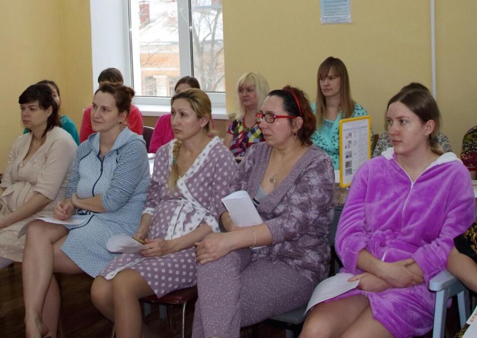 Открытие волонтерской Школы для родителей недоношенных детей в Волгограде.