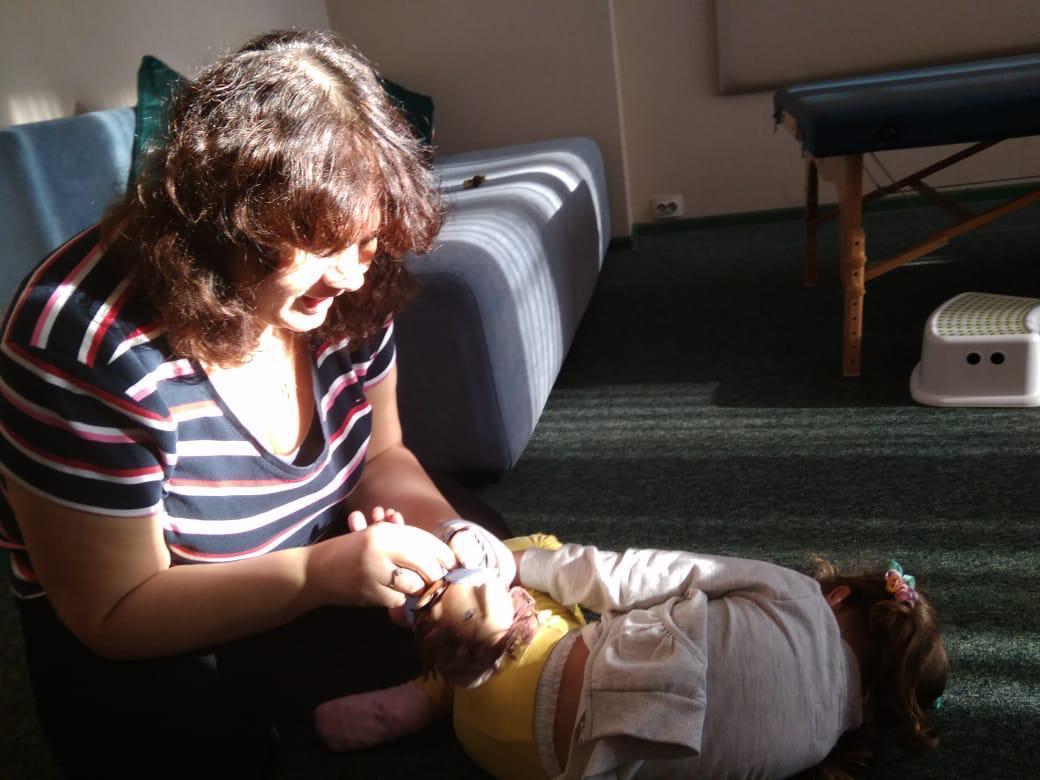 Анат Баниэль Метод (АБМ) в ранней реабилитации детей