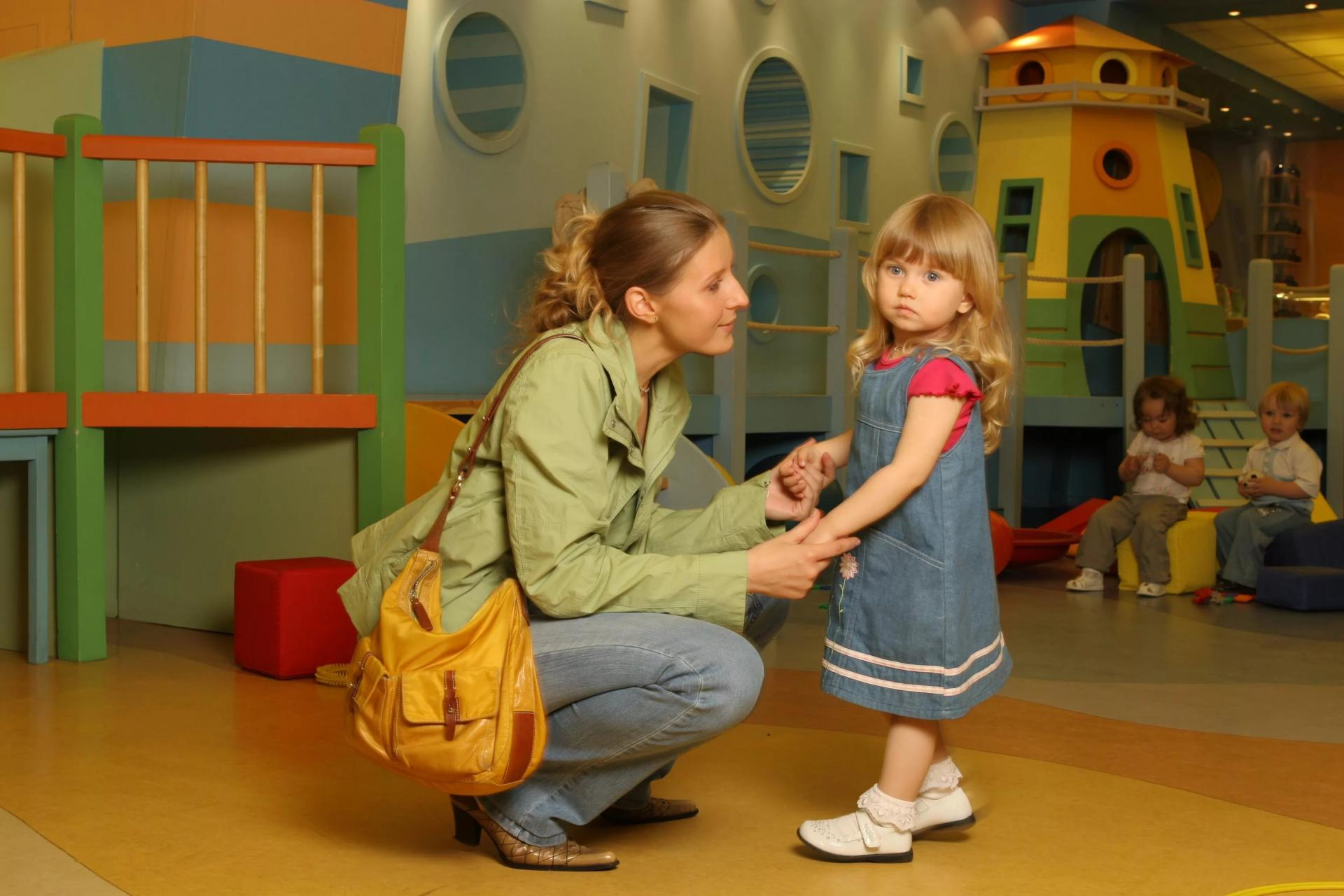 Как подготовить ребенка к детскому саду